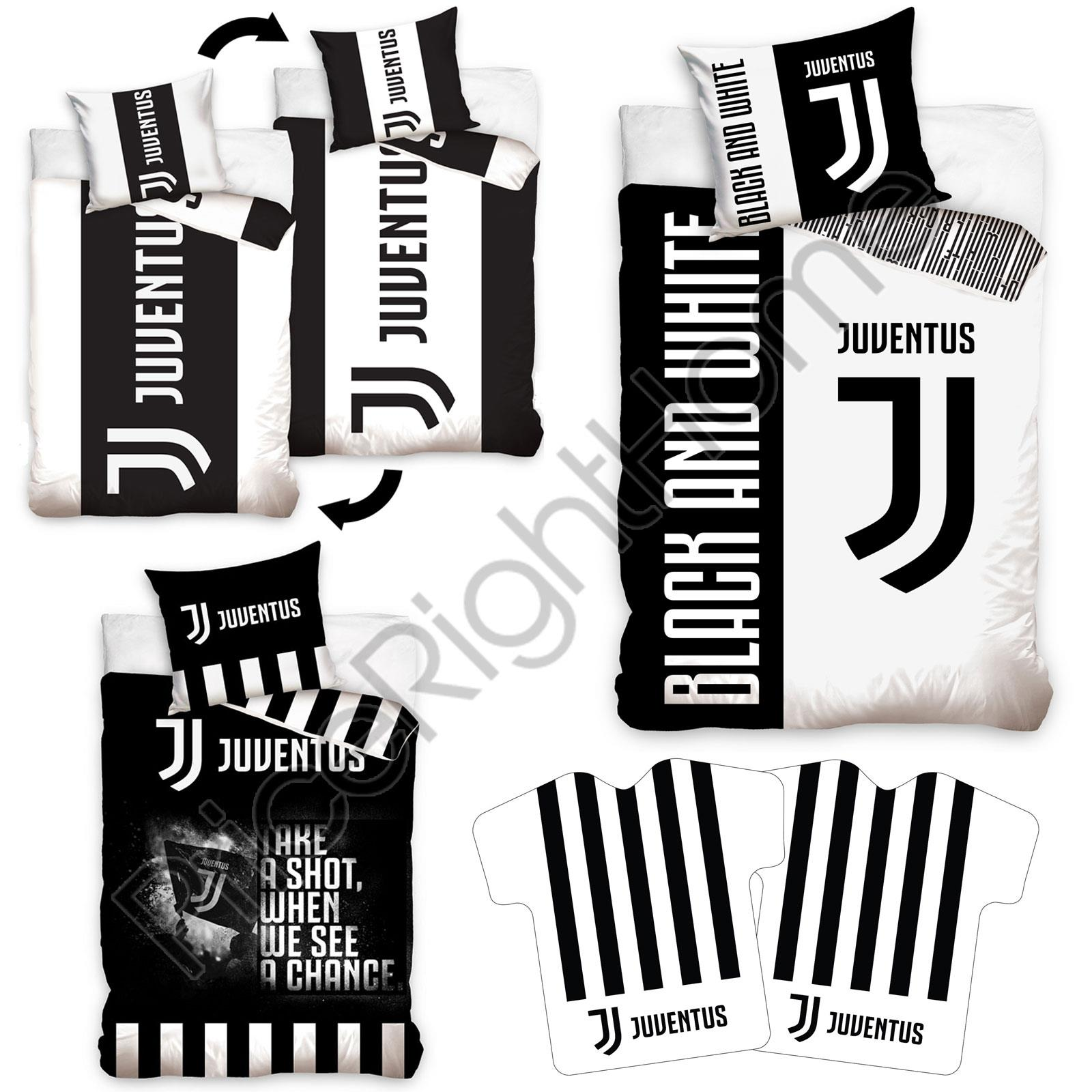 Juventus Single Duvet Cover Sets Cushion Fitted Sheet 100 Official Ebay