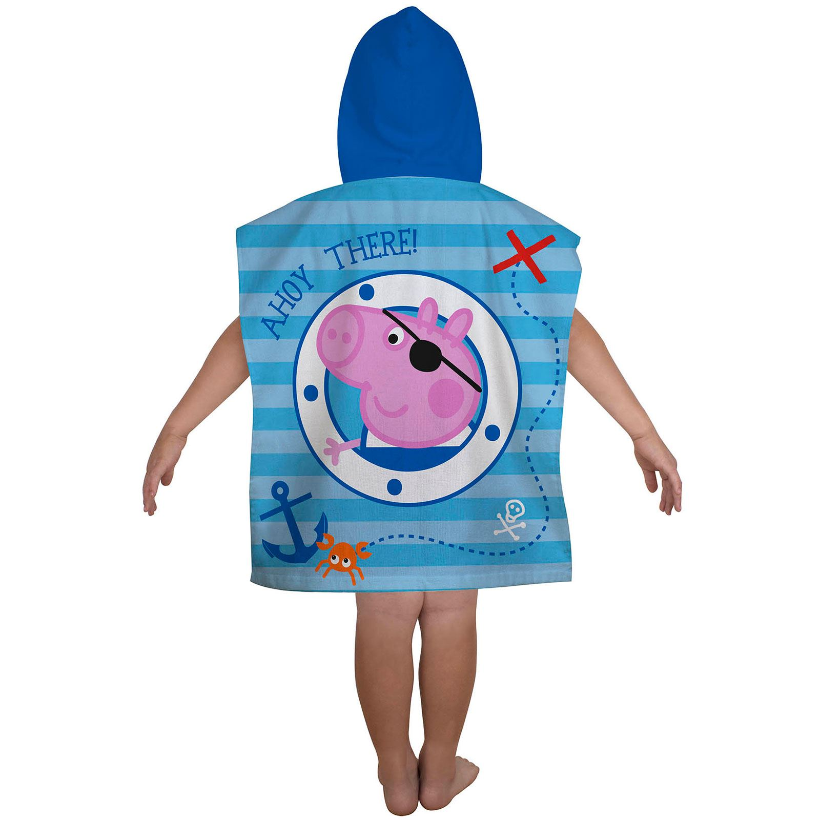 Peppa-Pig-George-100-Cotton-Beach-towels-amp-Hooded-Poncho-Boys-Girls-Kids miniature 19