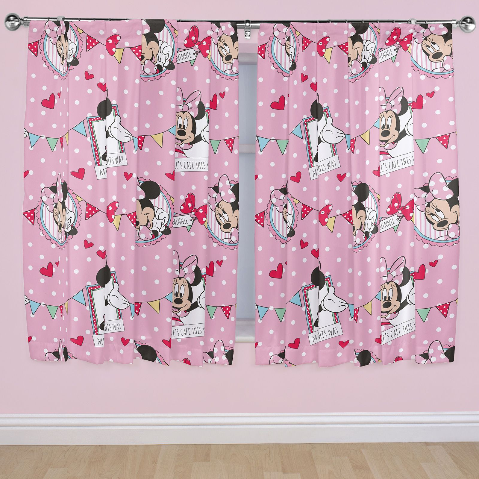 GIRLS CHARACTER CURTAINS DISNEY FROZEN PEPPA PIG PONY MORE 54