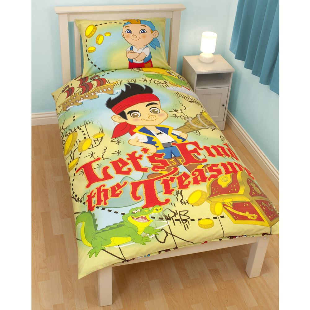 JAKE & THE NEVERLAND PIRATES BEDROOM - DUVET COVERS & CURTAINS ...