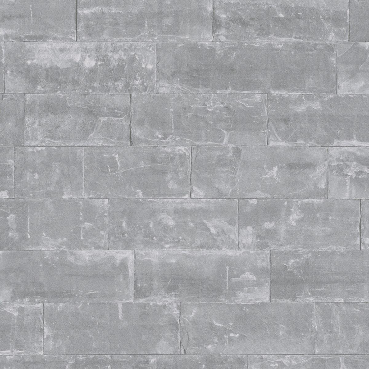 RASCH & FINE DECOR 10M LUXURY BRICK EFFECT WALLPAPER STONE ...