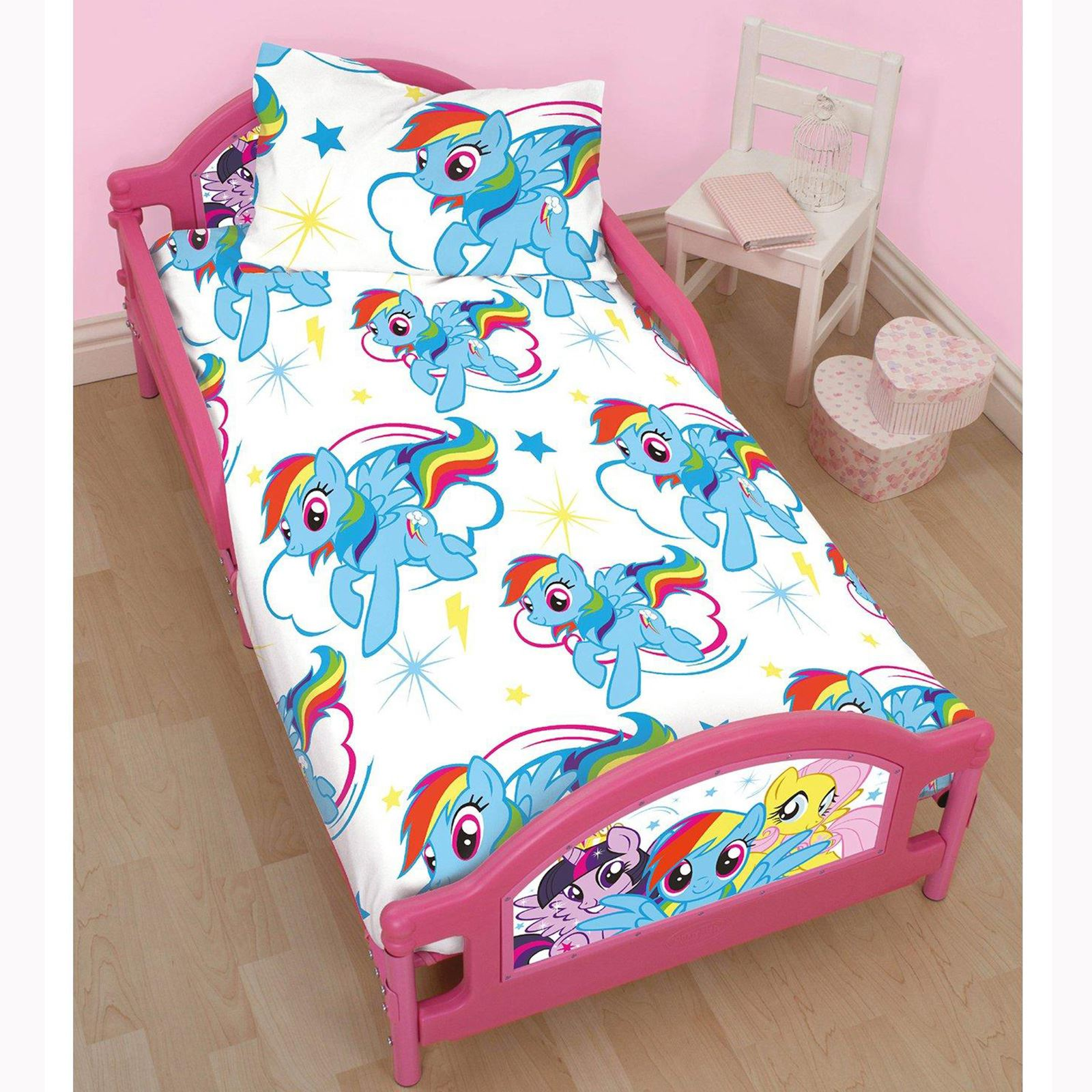 MY LITTLE PONY DASH JUNIOR TODDLER BED MATTRESS