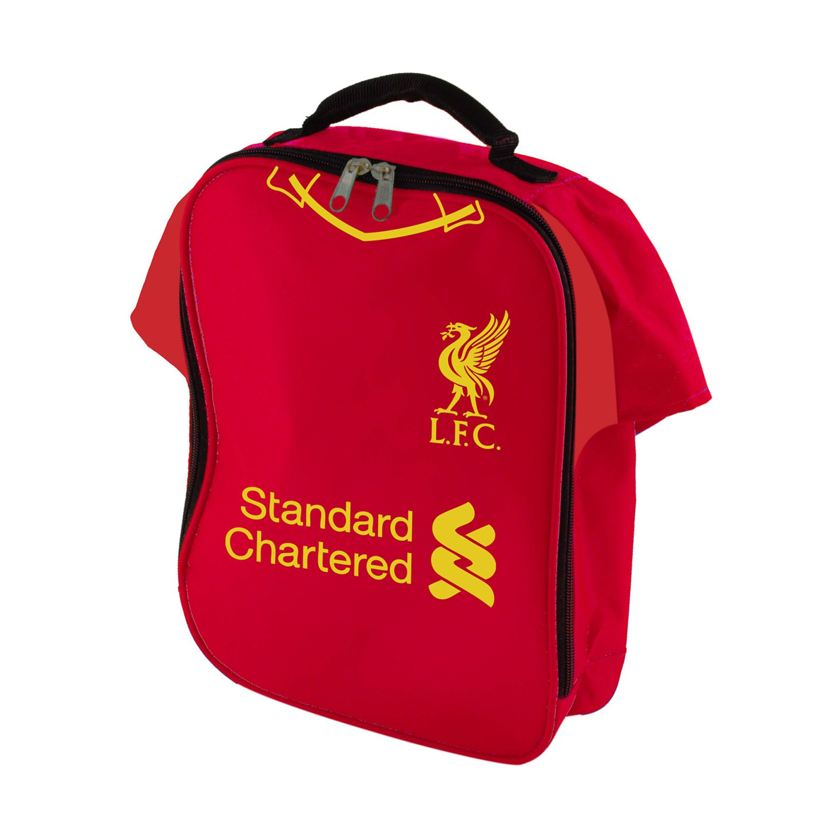 6f5e389296f Details about LIVERPOOL FC SHIRT INSULATED LUNCH BAG NEW FOOTBALL SCHOOL