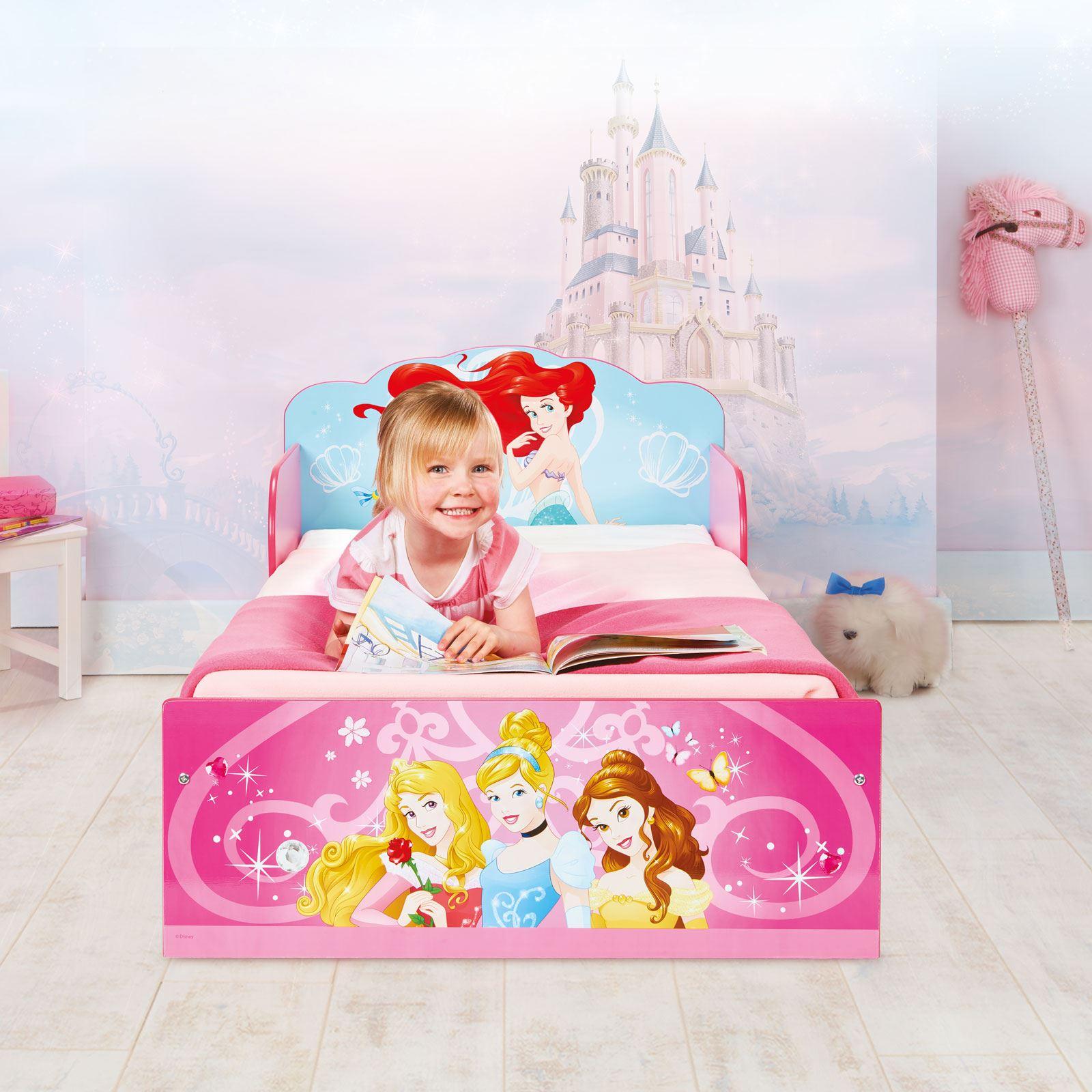 miniatura 15 - KIDS CHARACTER TODDLER BEDS - BOYS GIRLS BEDROOM DISNEY