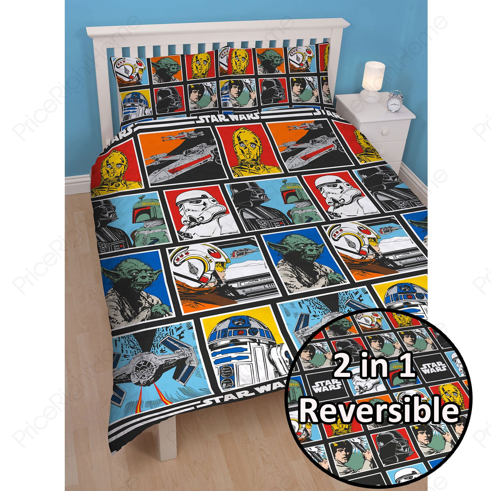 Funda Nordica Lego Star Wars.Details About Official Star Wars Lego Duvet Cover Sets Bedding Kids Stormtroopers Darth Vader