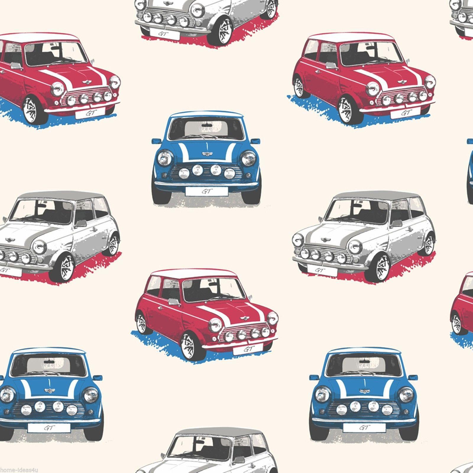 Wallpaper decor auto
