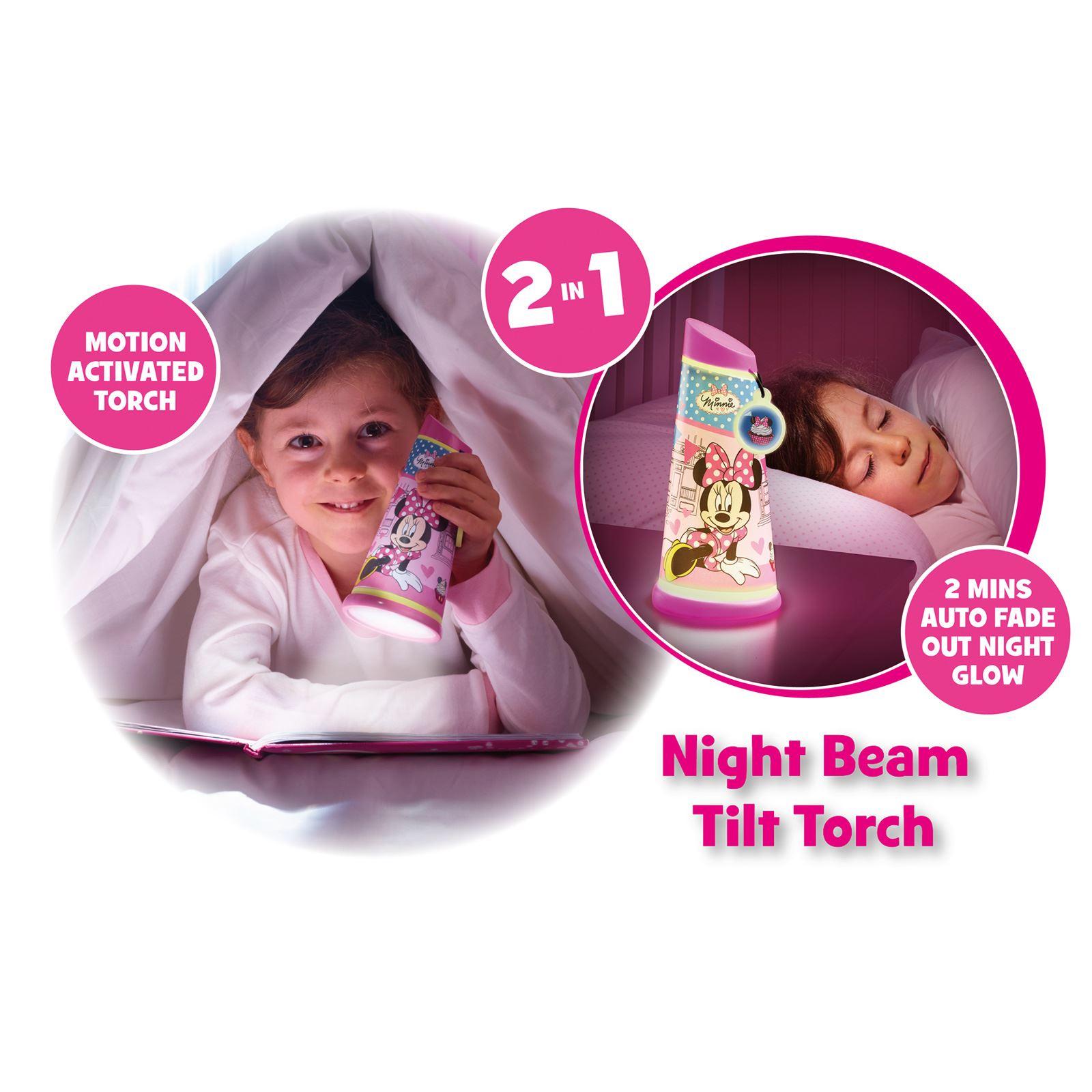 Indexbild 44 - Go Glow Nacht Beam Kipp Torch Beleuchtung Licht Kinder Schlafzimmer