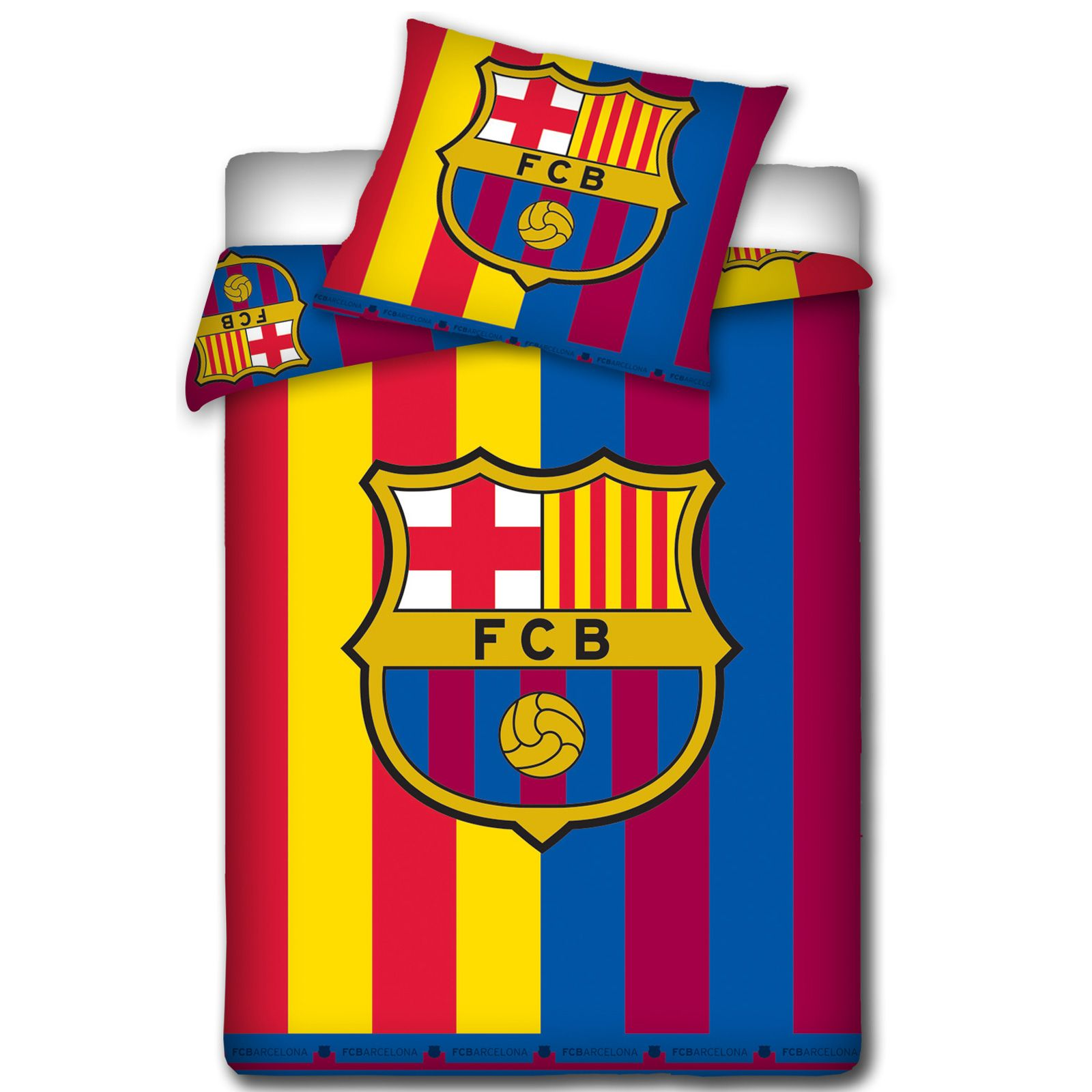 OFFICIAL FC BARCELONA DUVET COVER SETS BEDDING BEDROOM