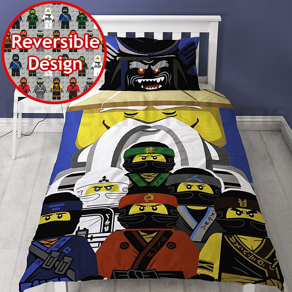l go housse couette literie enfant junior simple ninjago star wars batman ebay. Black Bedroom Furniture Sets. Home Design Ideas
