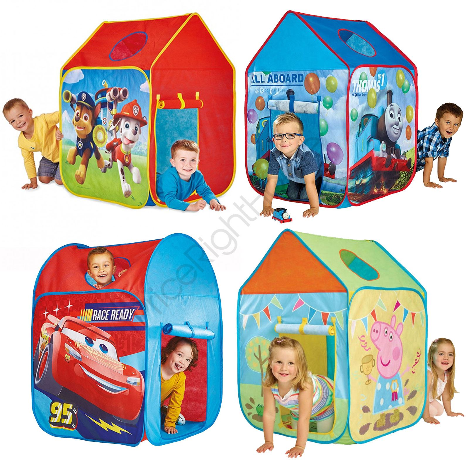CHARACTER PLAY TENTS PAW PATROL THOMAS DISNEY CARS PEPPA PIG INDOOR OUTDOOR NEW  sc 1 st  eBay & CHARACTER PLAY TENTS PAW PATROL THOMAS DISNEY CARS PEPPA PIG ...