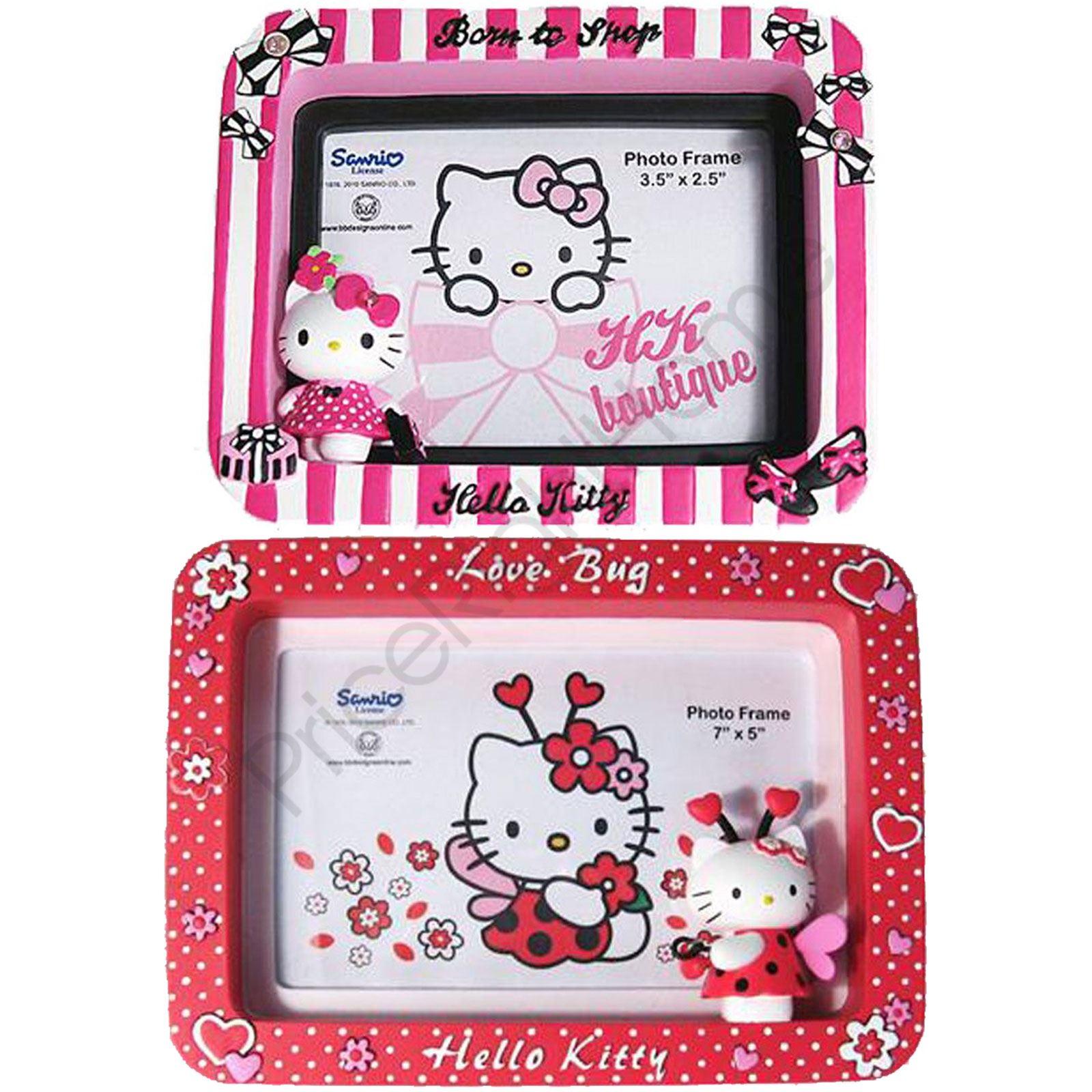 Hello Kitty Marcos foto de niña - Nacido a Tienda 8.9cm x 6.3cm ...