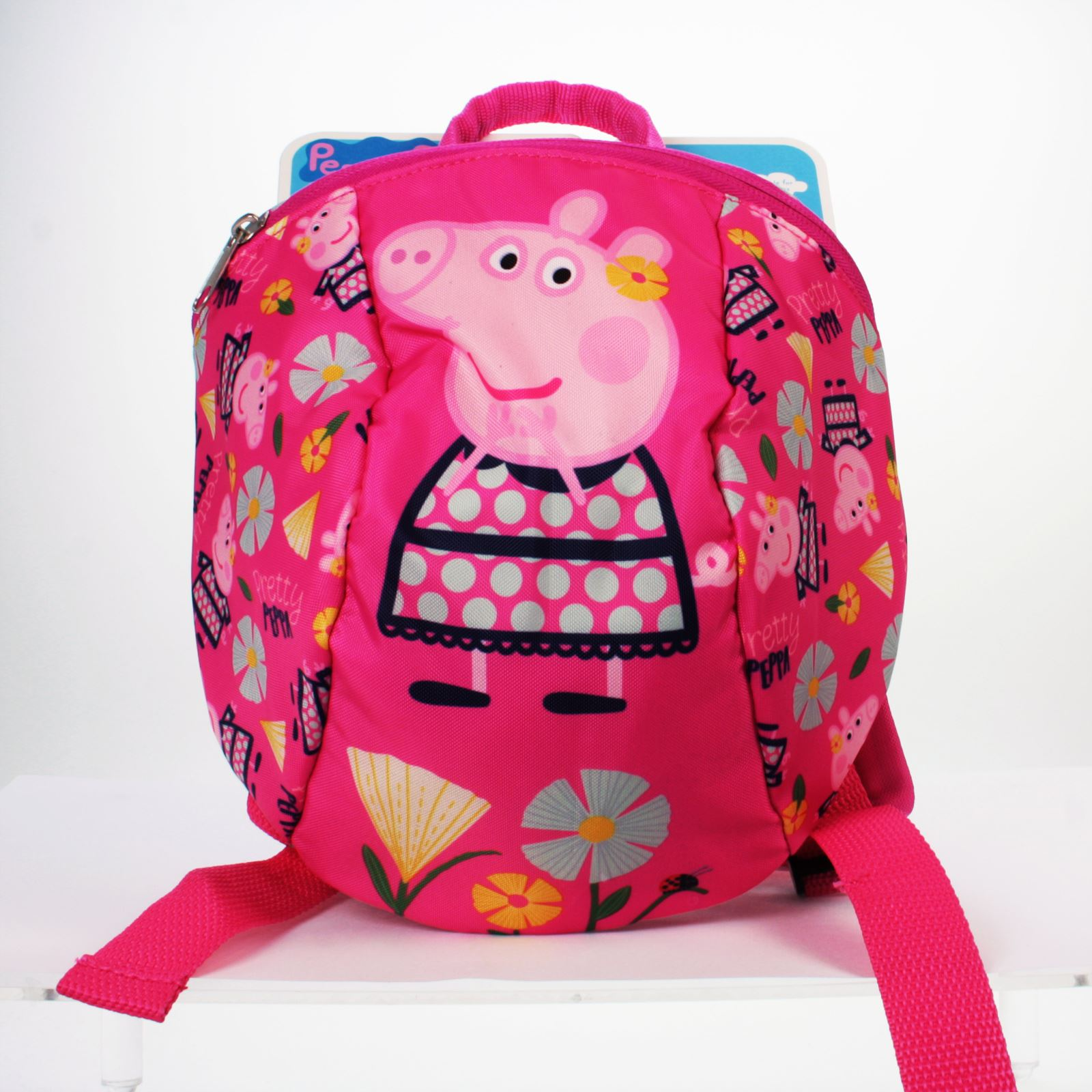 bfcdab4a9f PEPPA PIG JUNIOR TODDLER RUCKSACK BACKPACK WITH REINS HARNESS KIDS PINK