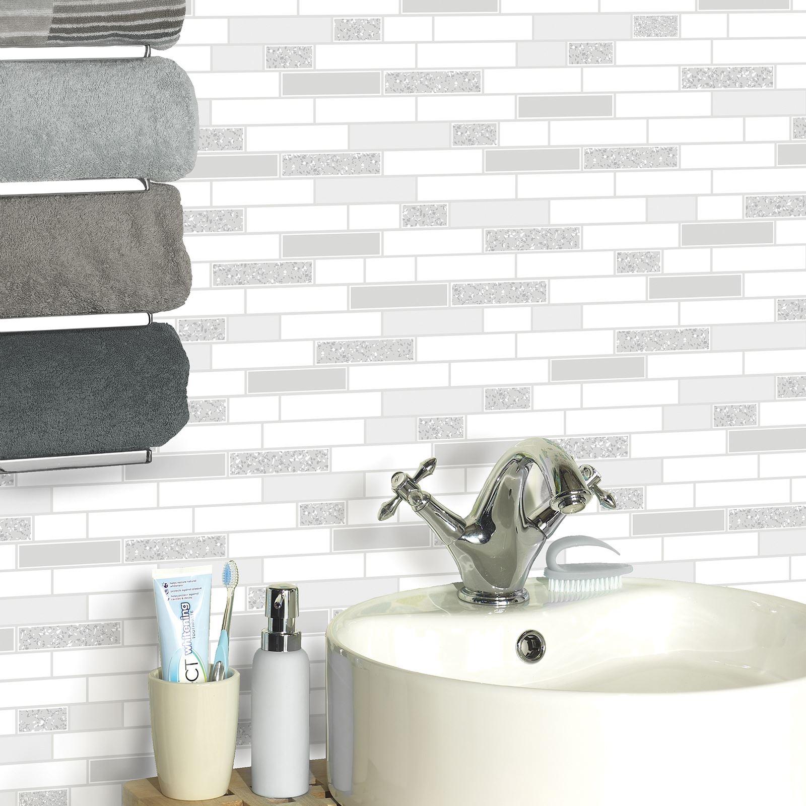 Kitchen Wallpaper Ebay Uk: HOLDEN TILING ON A ROLL TILE GLITTER TEXTURED WALLPAPER