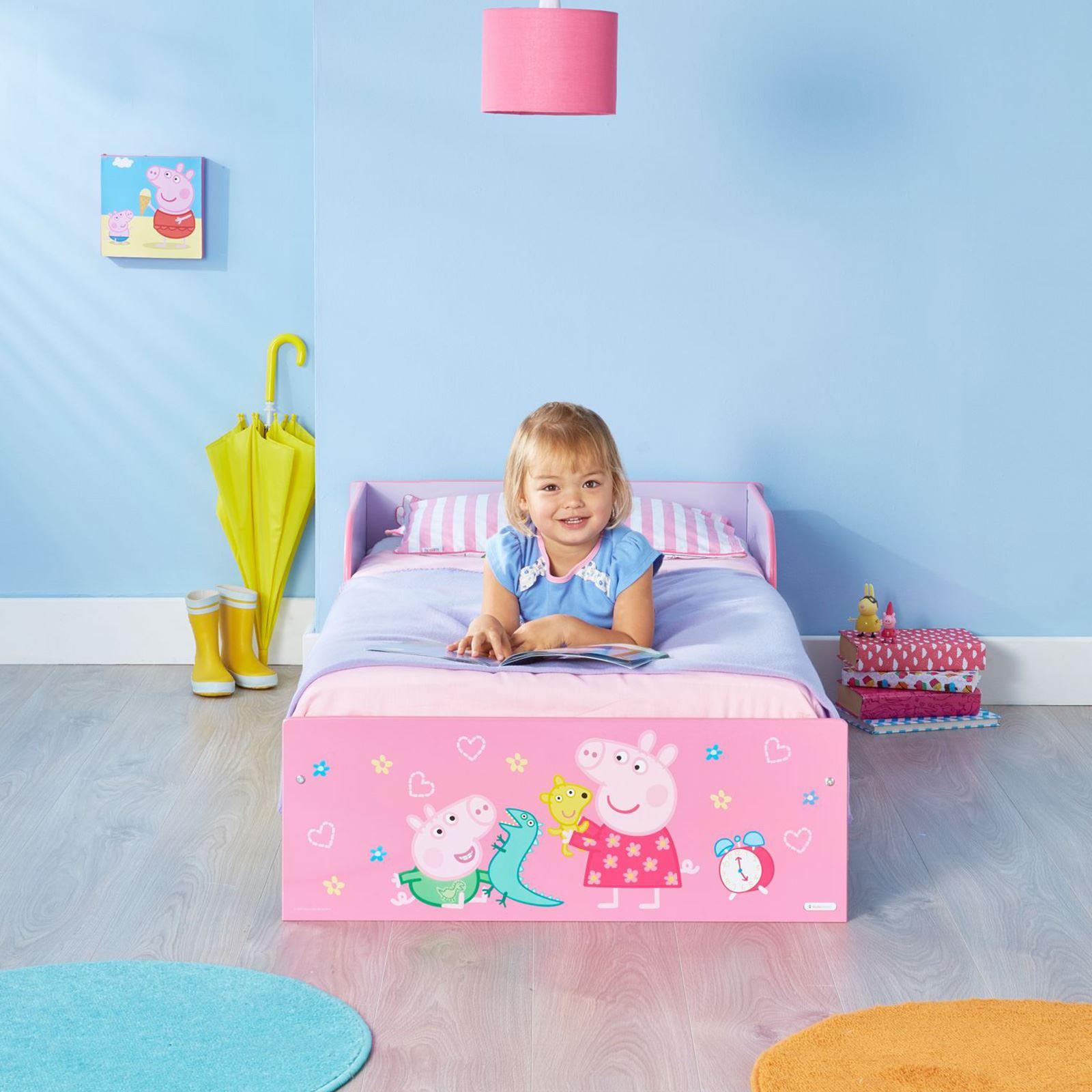 miniatura 60 - KIDS CHARACTER TODDLER BEDS - BOYS GIRLS BEDROOM DISNEY
