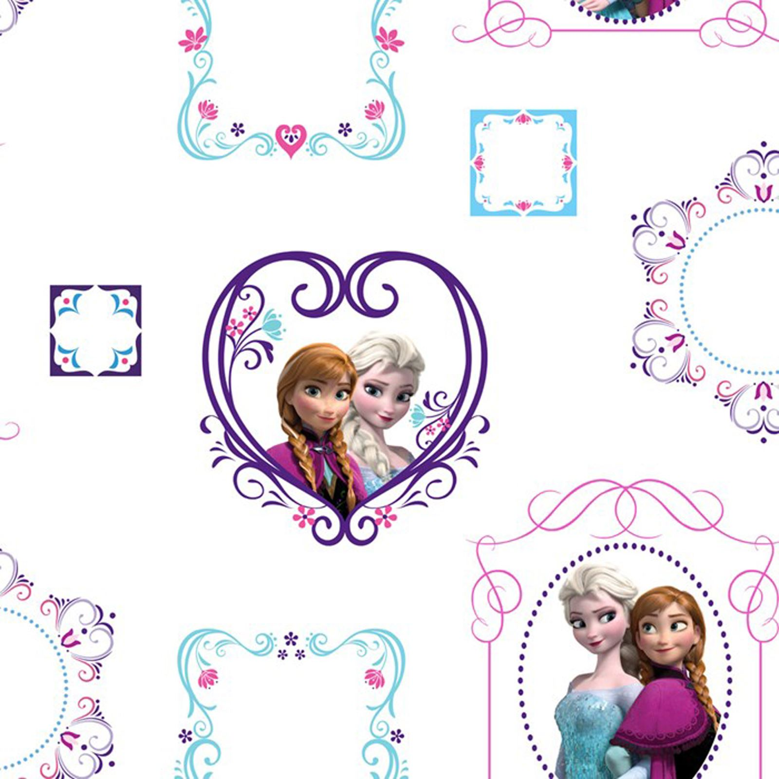 DISNEY FROZEN WALLPAPER BORDERS AND WALL STICKERS
