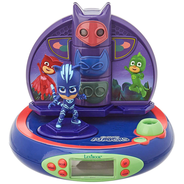 Character Radio Projector Alarm Clocks Kids Disney
