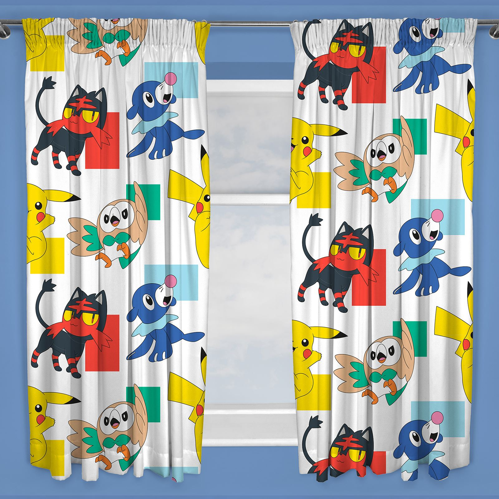 DISNEY-amp-carattere-Boys-tende-camera-da-letto-MARVEL-PAW-PATROL-POKEMON-Thomas-amp-More