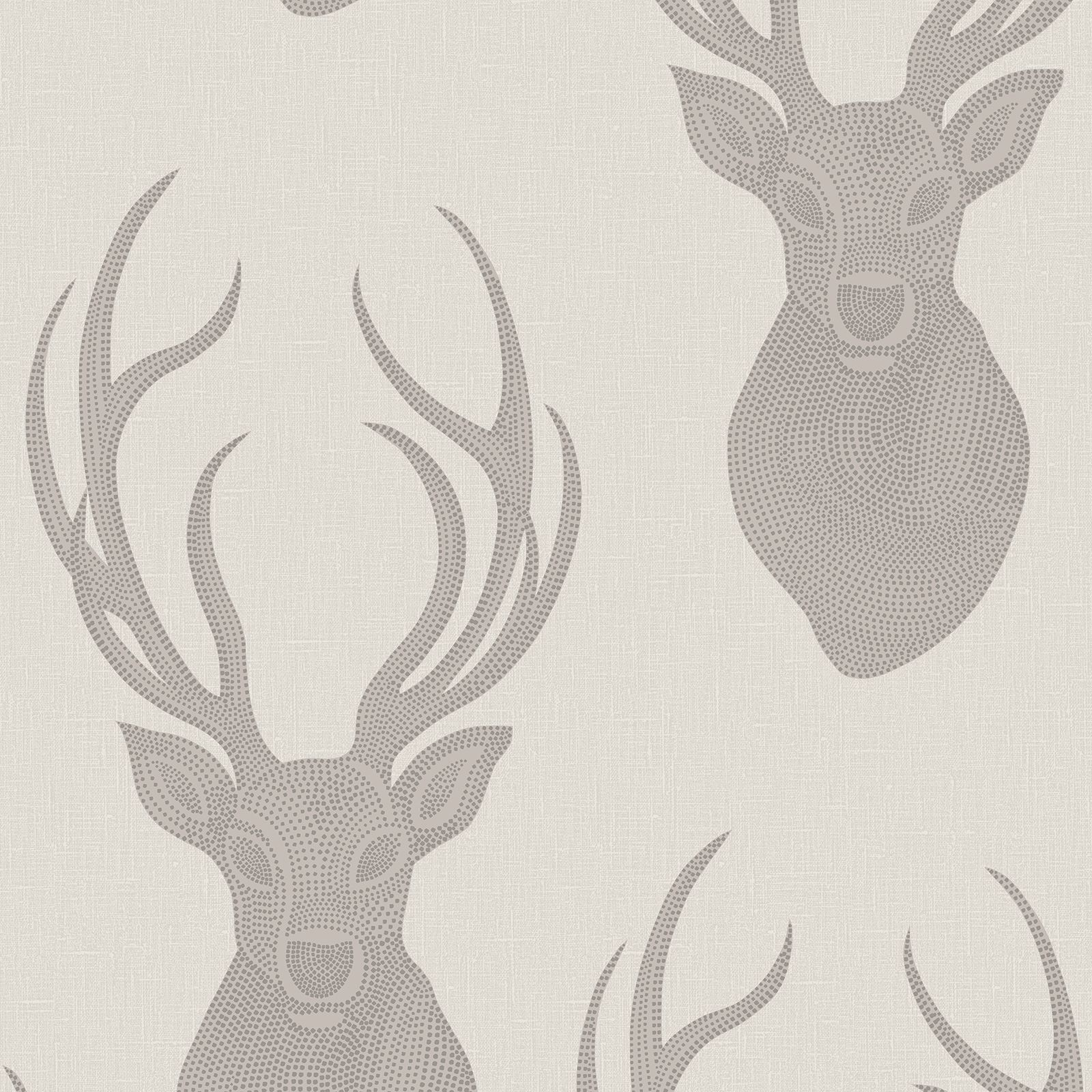 STUNNING STAG WALLPAPER VARIOUS DESIGNS IN SOFT NATURAL TONES ...