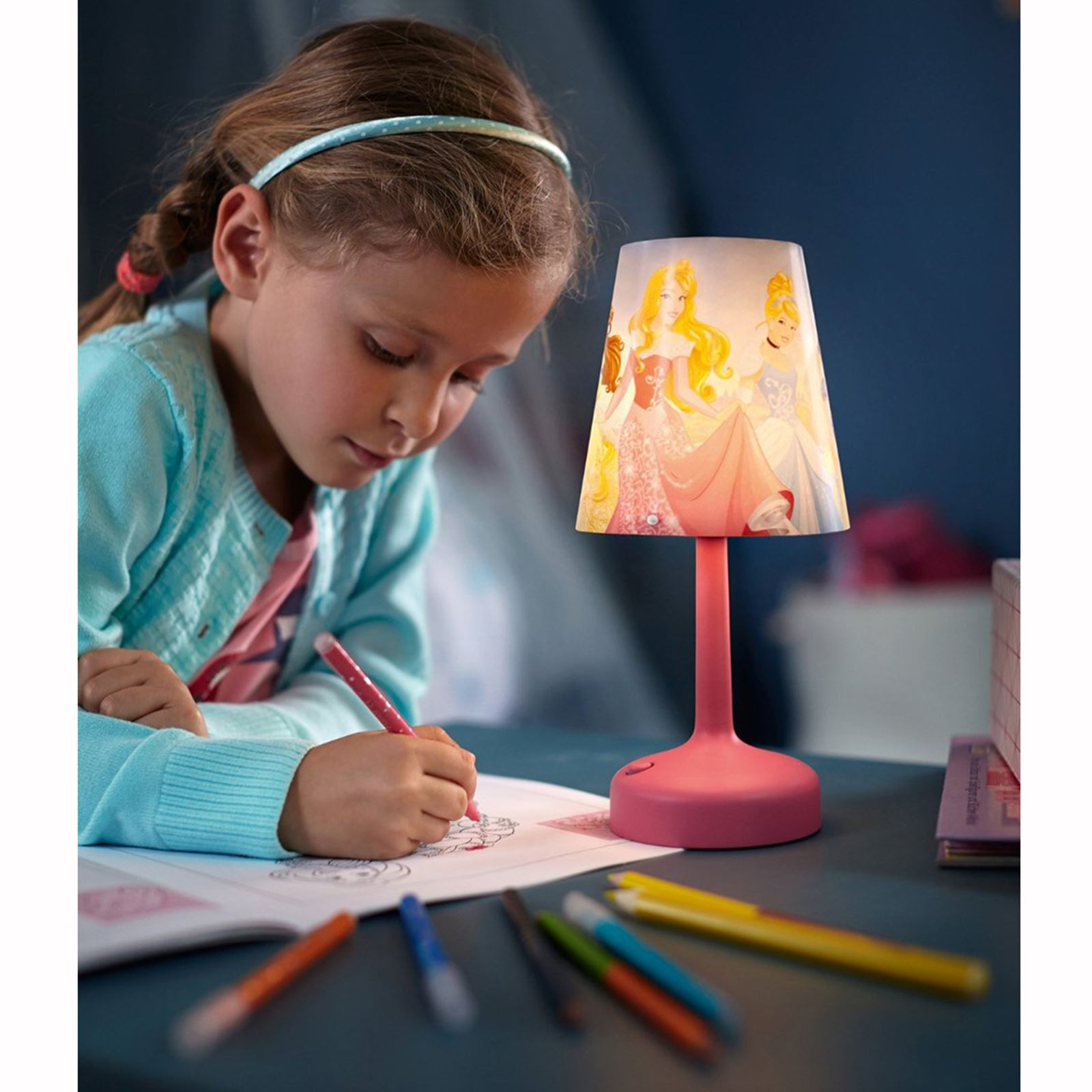 Character Kids Bed Side Lamps Star Wars Disney Marvel Ebay