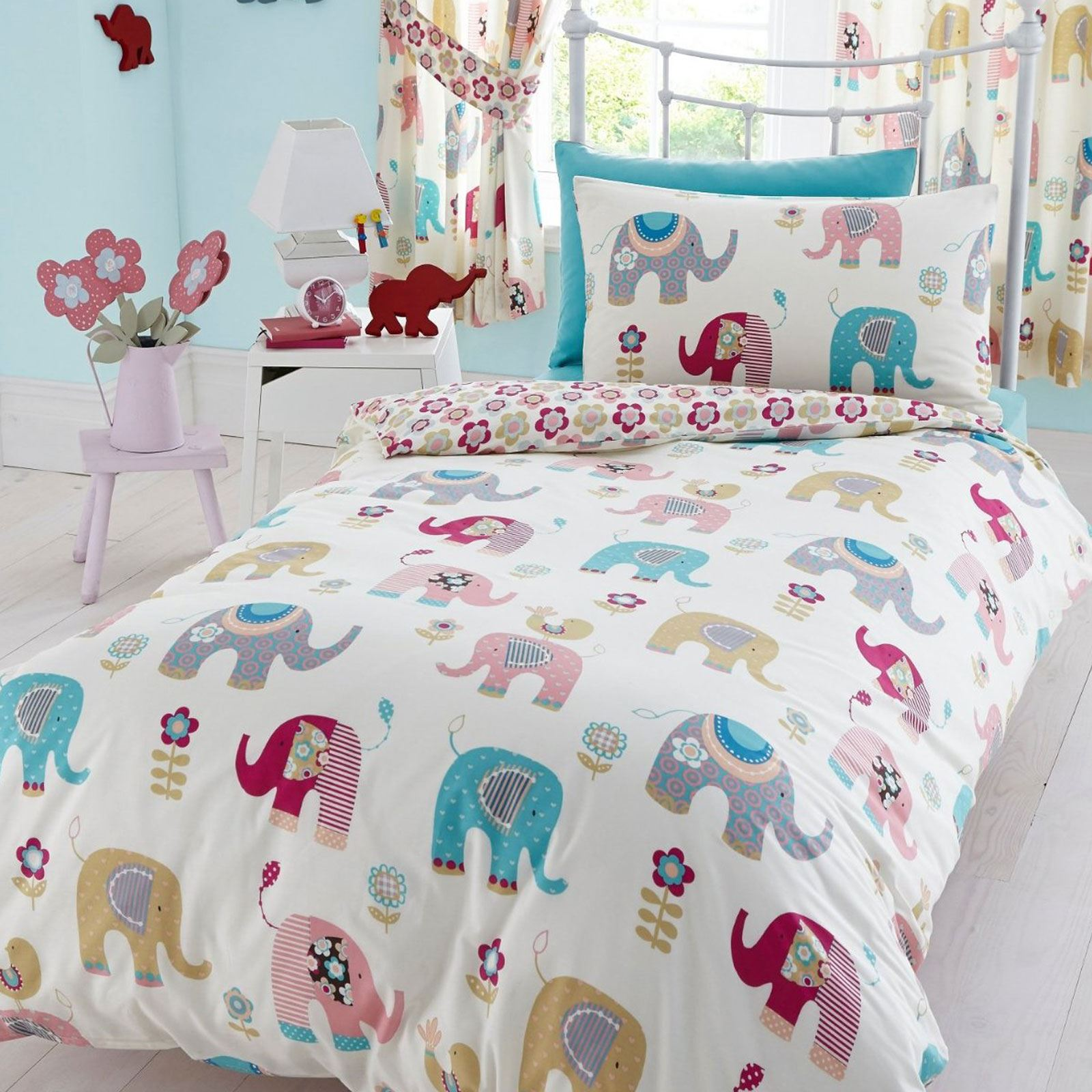 100 cotton disney and character twin duvet cover sets kids ebay. Black Bedroom Furniture Sets. Home Design Ideas