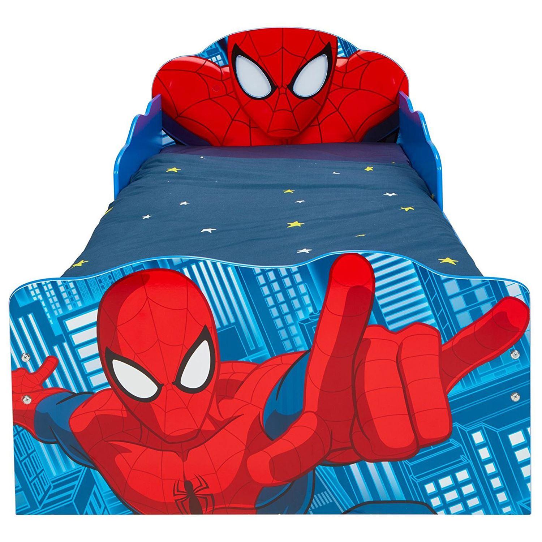 SPIDERMAN TODDLER BED & STORAGE + MATTRESS OPTIONS - BOYS ...