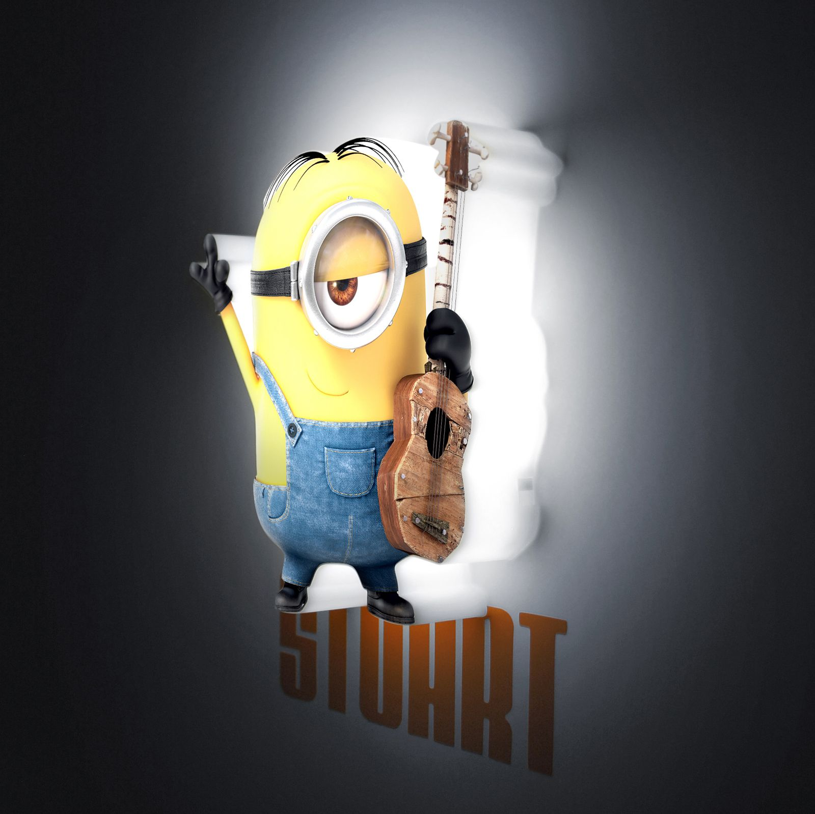 Minions 3d led mini wall lights bob stuart kevin kids deco minions 3d led mini wall lights bob stuart kevin kids deco despicable me aloadofball Image collections