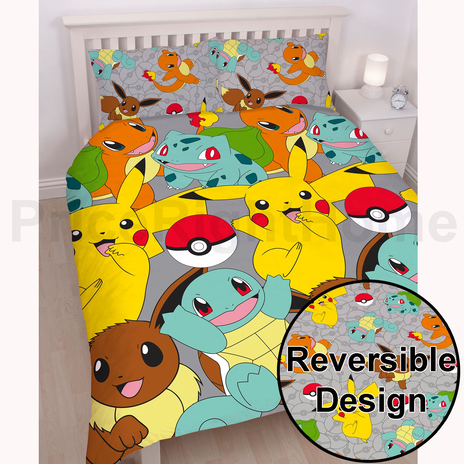 Pokemon Go Duvet Cover Catch Single