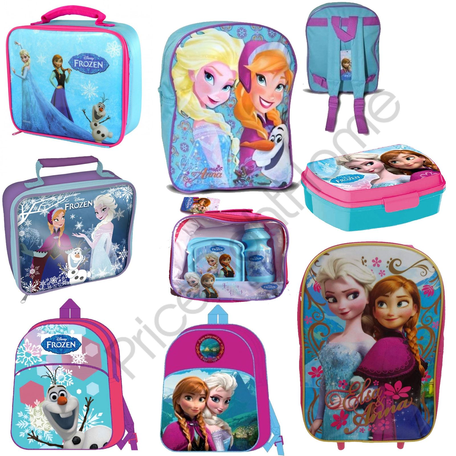 1932cc06ffe DISNEY FROZEN SCHOOL BAGS LUNCH