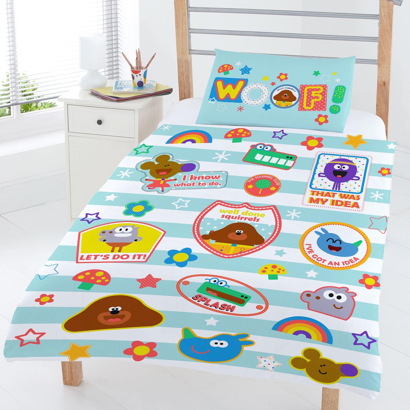 Hey Duggee Bedroom Accessories Kids Duvet Cover Set