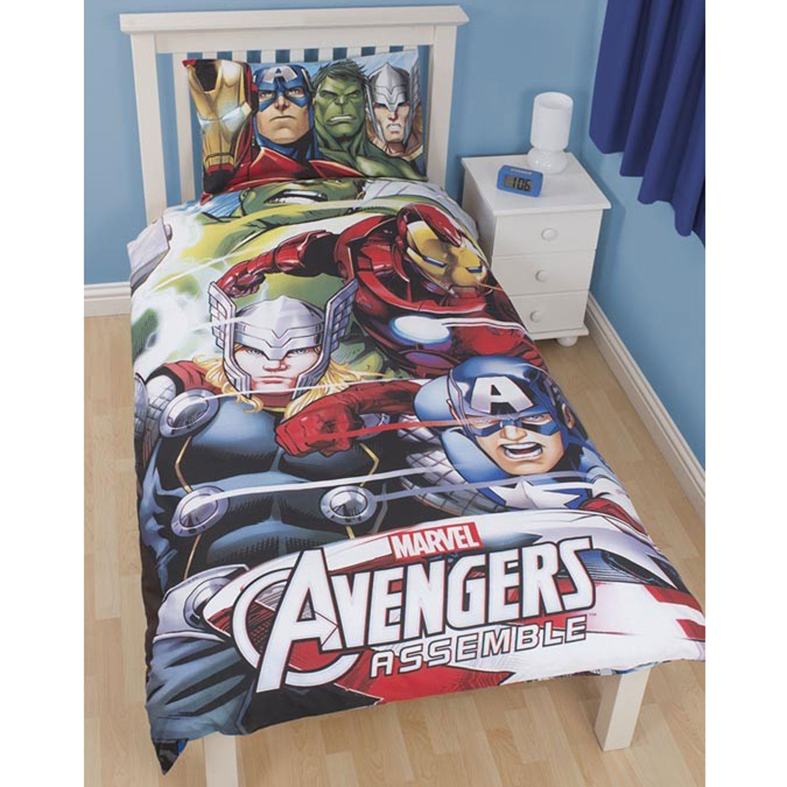 Marvel Bedroom Accessories Marvel Duvet Cover Sets Single Double King Comics Avengers