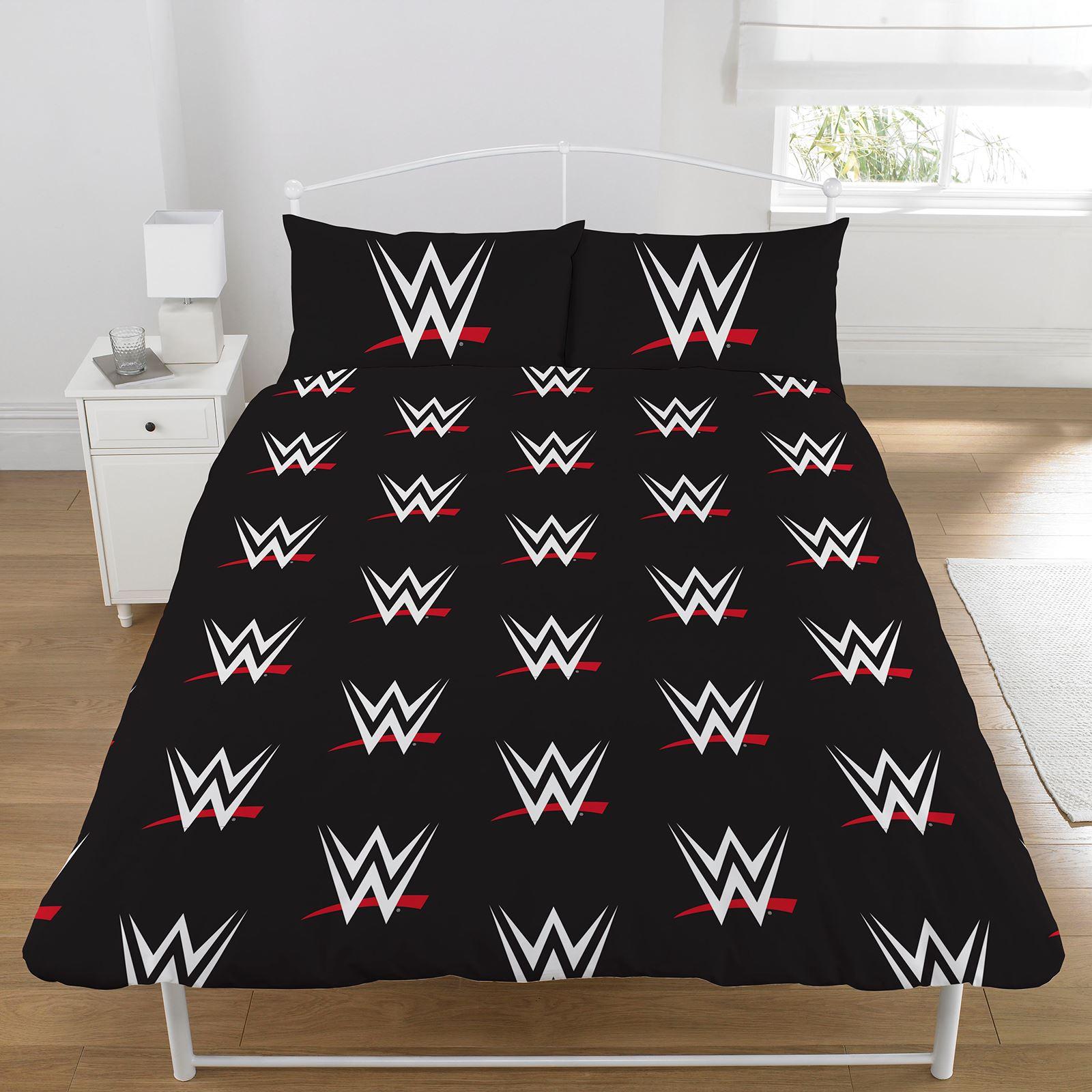 wwe single  double duvet cover sets kids bedding