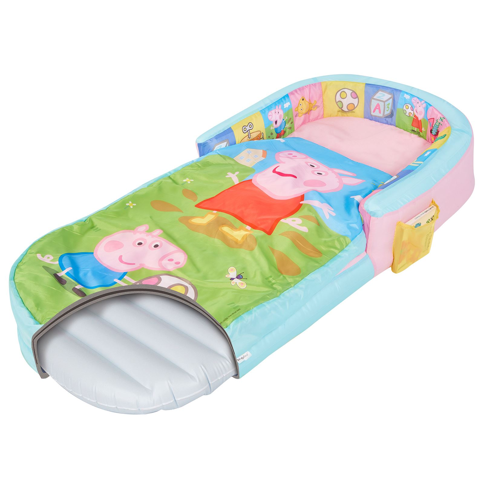 details about peppa pig and george my first ready bed air mattress portable  kids