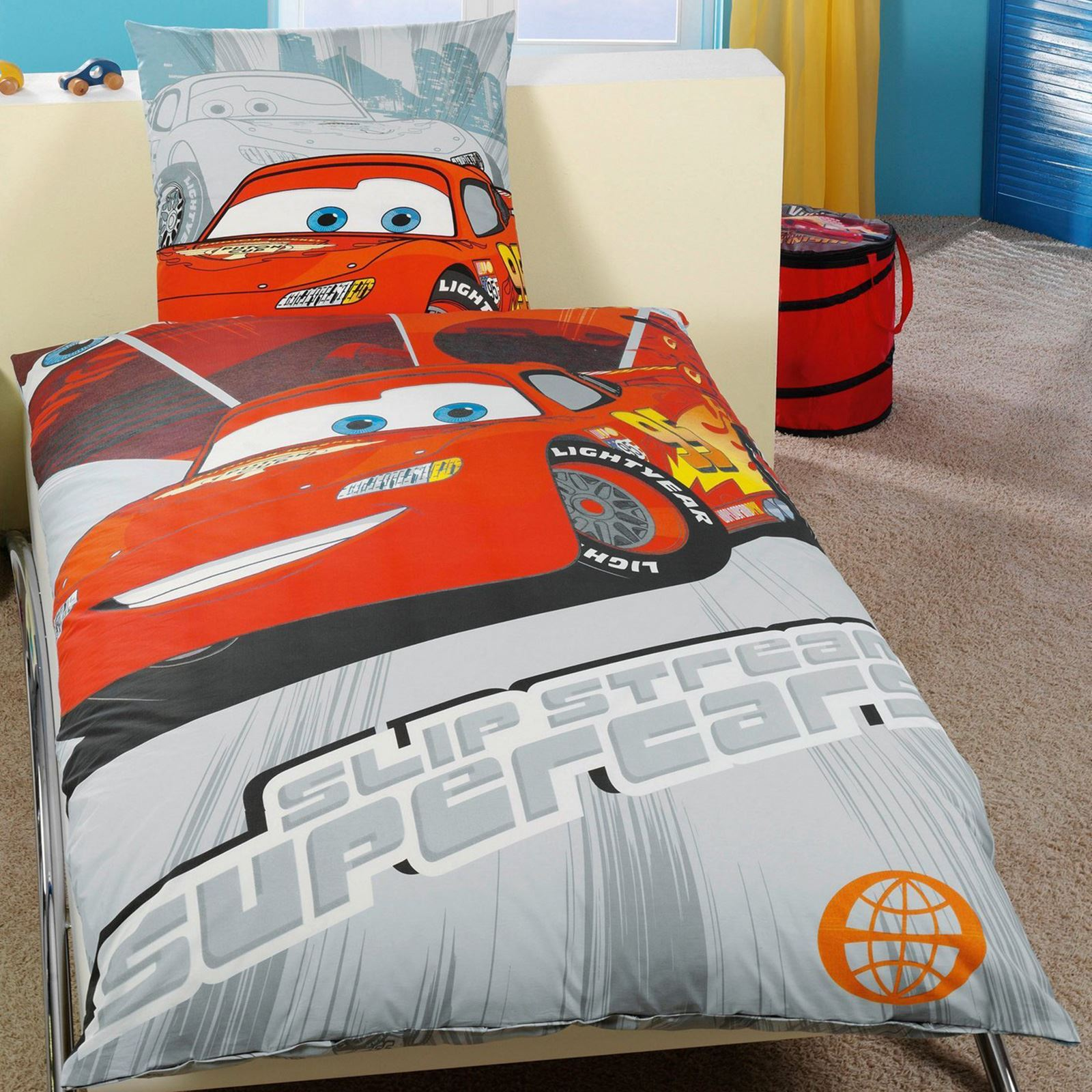 DISNEY CARS DUVET COVER SETS IN SINGLE, DOUBLE AND JUNIOR