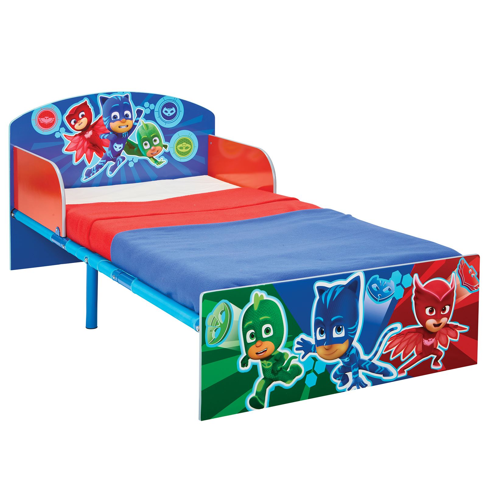 OFFICIAL CHARACTER TODDLER BED WITH SIDE PANEL PAW. OFFICIAL CHARACTER TODDLER BED WITH SIDE PANEL   PAW PATROL PJ