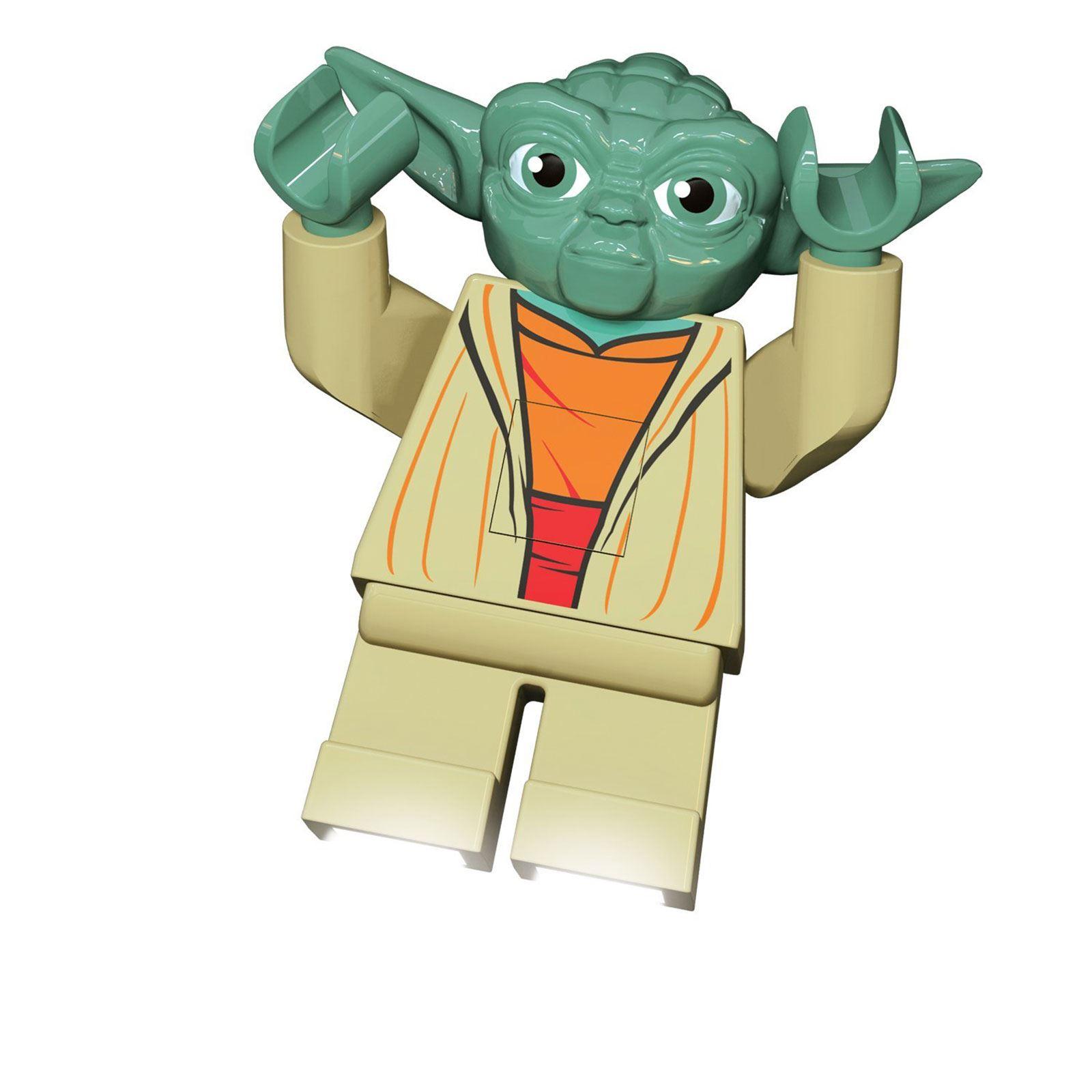 LEGO STAR WARS YODA LED LITE FACKEL KINDER BELEUCHTUNG 100 ...