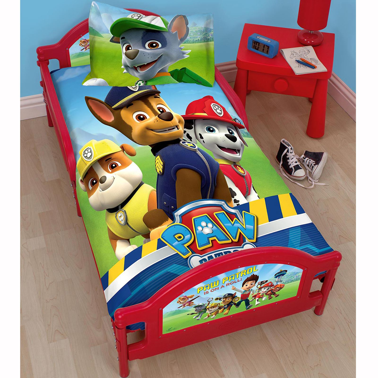 KIDS TODDLER JUNIOR CHARACTER BEDS MATTRESS OPTION