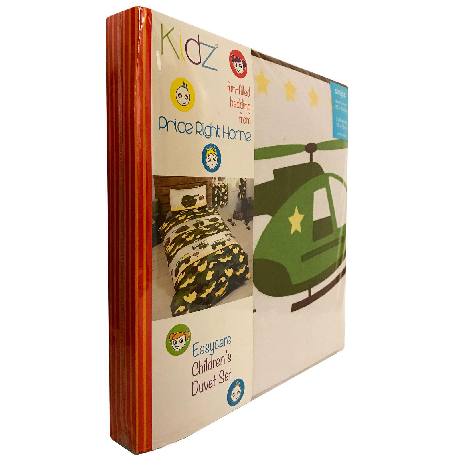 CHARACTER-AND-THEMED-SINGLE-DUVET-COVER-KIDS-BEDDING-SETS-AVENGERS-KITTY-UNICORN thumbnail 8