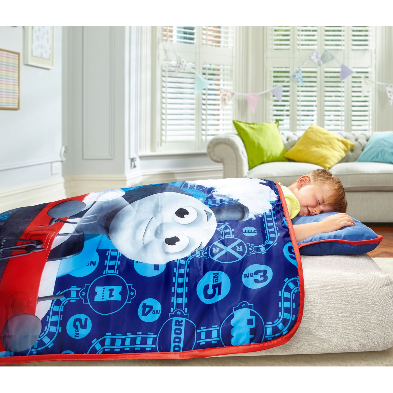 Character Cosy Wrap Nap Bed Toddler Bed Paw Patrol Peppa