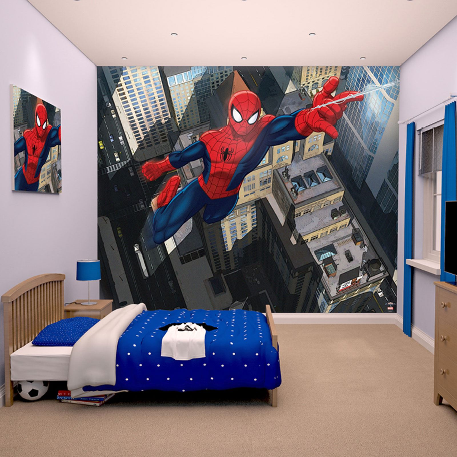 WALLTASTIC WALLPAPER WALL MURALS KIDS BEDROOM PEPPA AVENGERS  Part 61