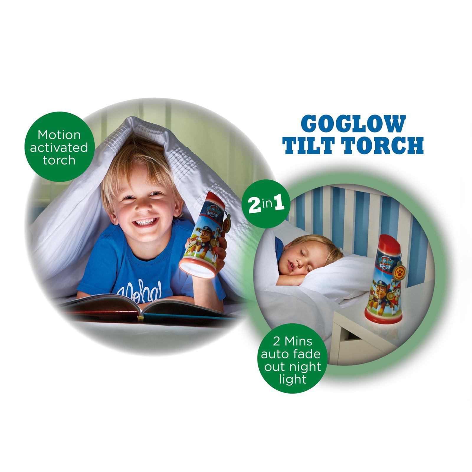 Indexbild 59 - Go Glow Nacht Beam Kipp Torch Beleuchtung Licht Kinder Schlafzimmer