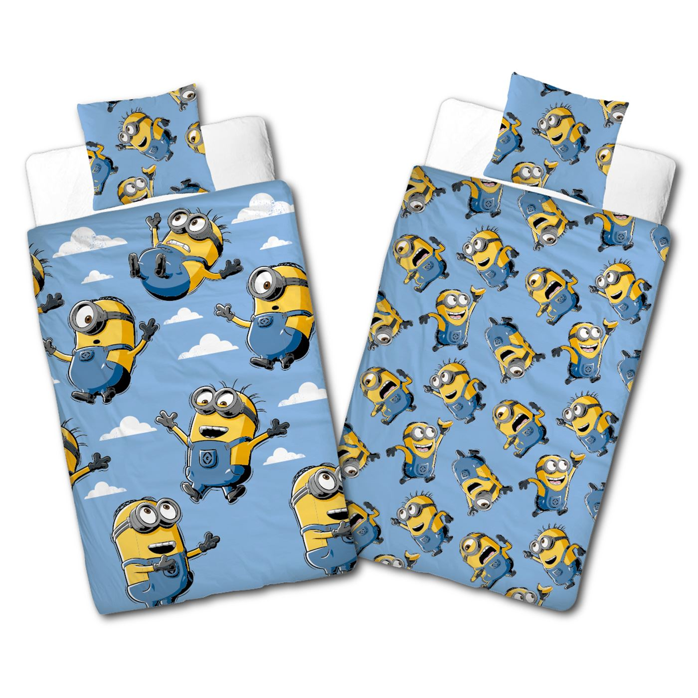 despicable me minions bello single duvet cover set