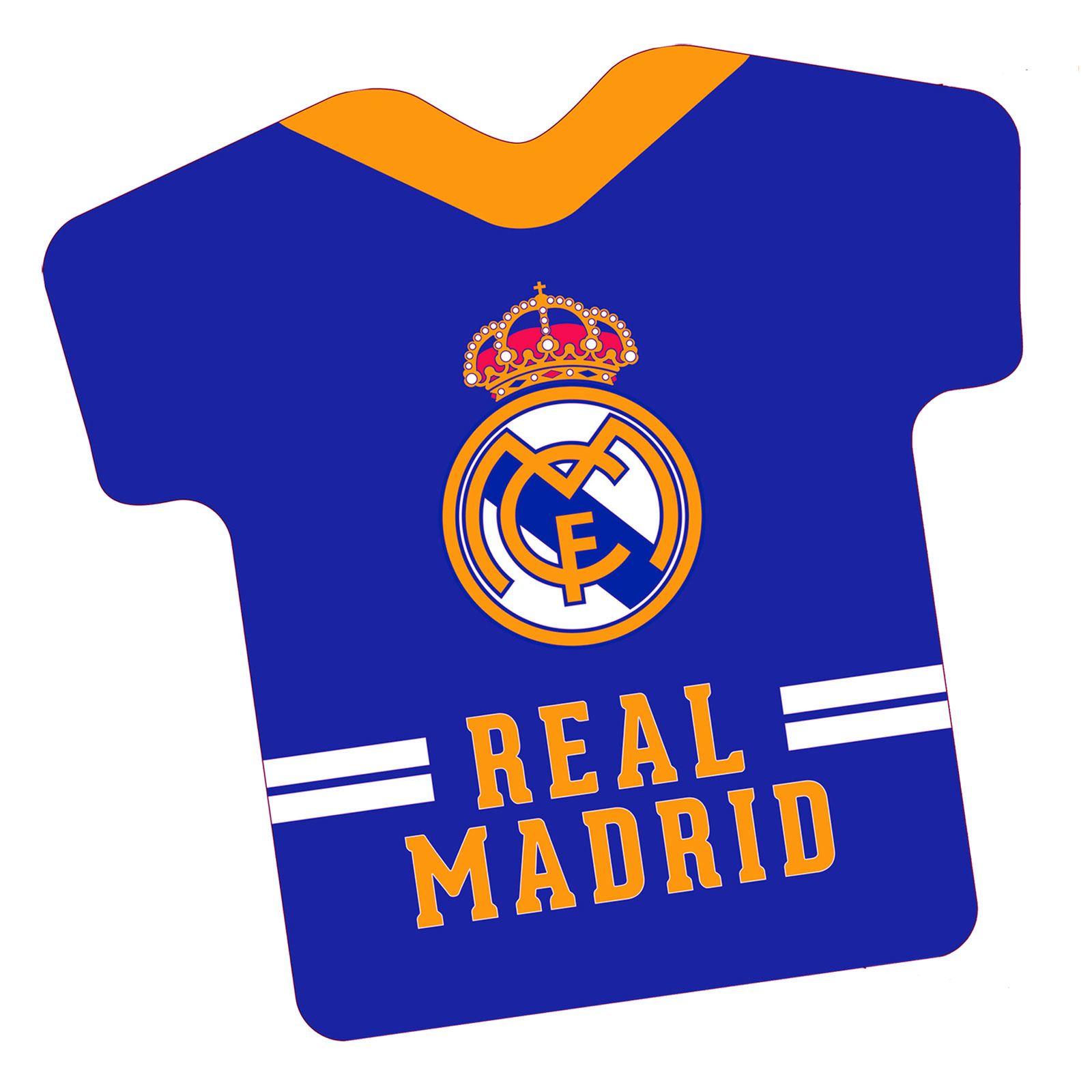 606f02549 REAL MADRID CF SHIRT SHAPED FILLED CUSHION FOOTBALL 8435464534150