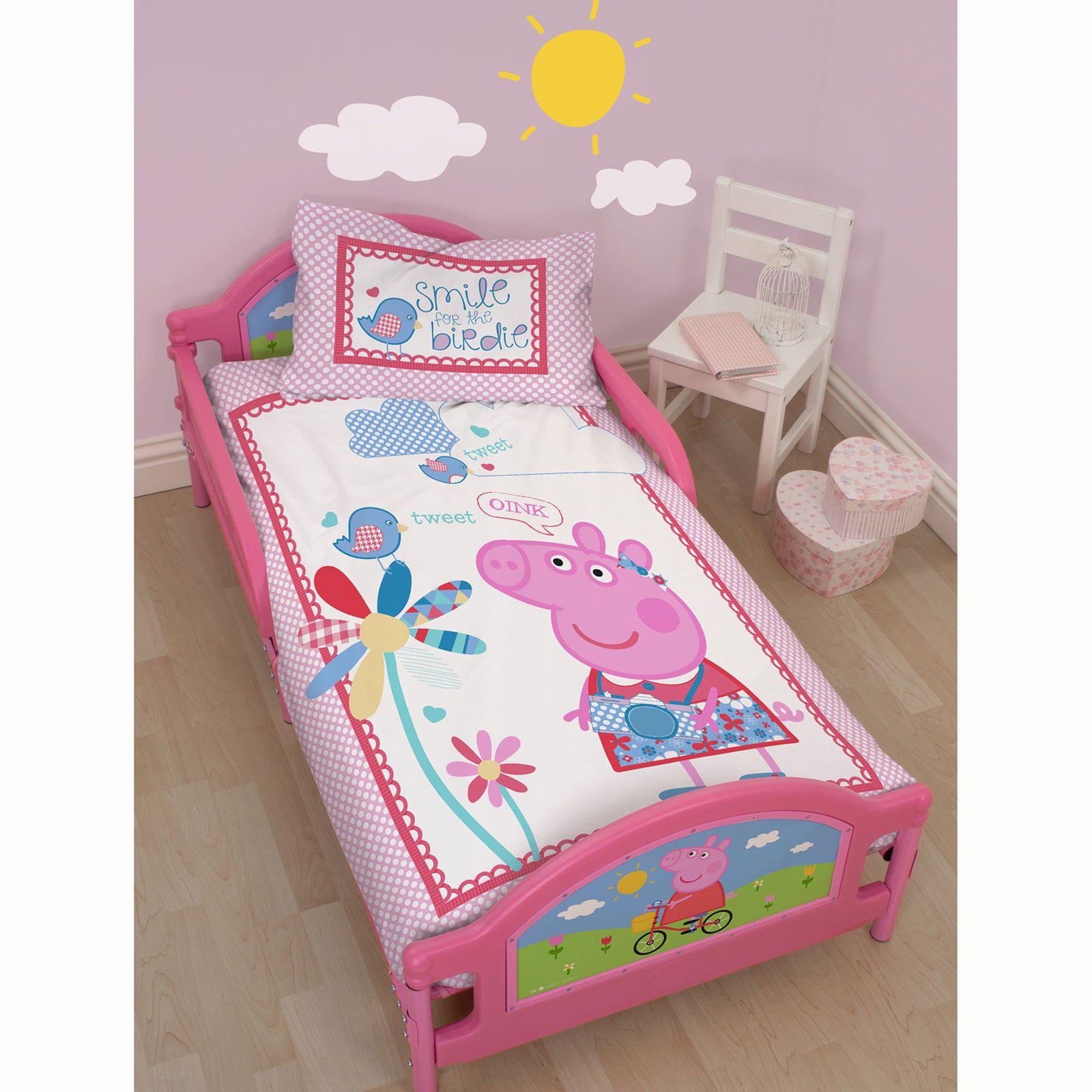 Character Toddler Junior Beds Peppa Pig Thomas Paw Patrol  # Muebles De Peppa Pig