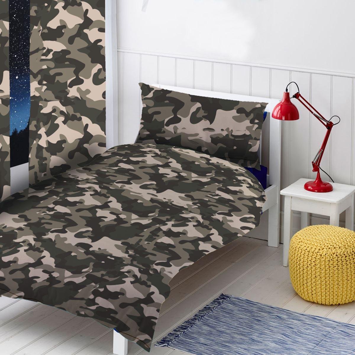 tarnfarbe grau blau rosa einzel doppel bettbezug set. Black Bedroom Furniture Sets. Home Design Ideas