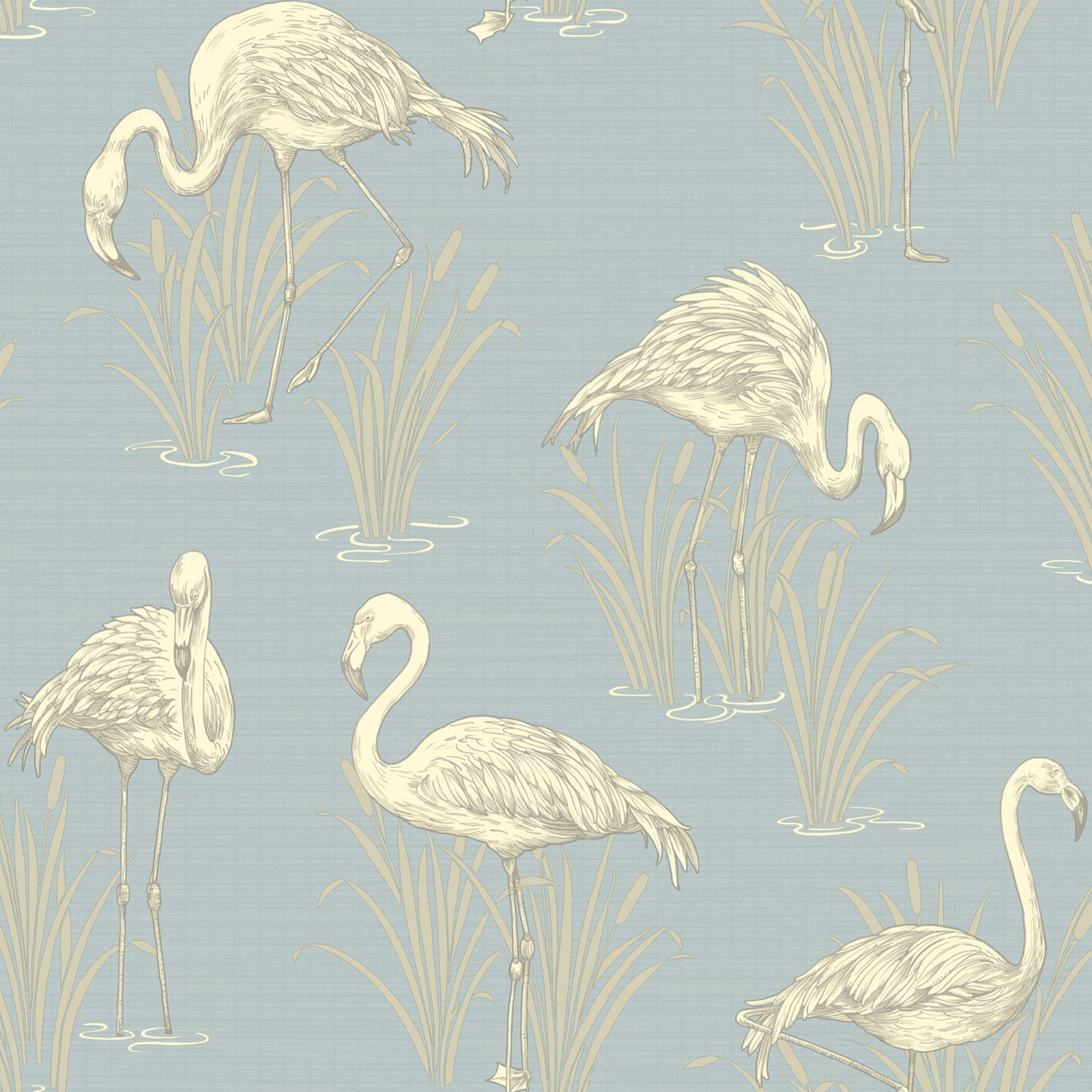 arthouse vintage lagoon flamingo wallpaper 5 colours available room wall decor ebay. Black Bedroom Furniture Sets. Home Design Ideas