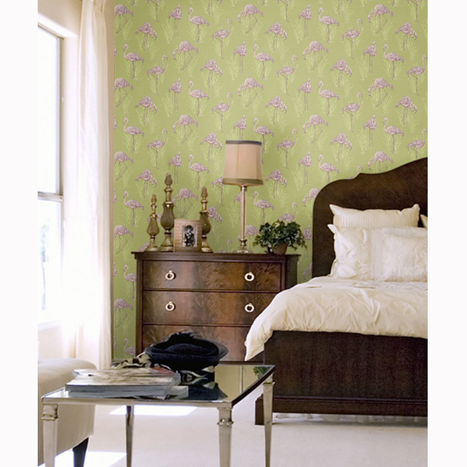 Beautiful exotic and tropical birds themed wallpapers for Beautiful bedroom walls