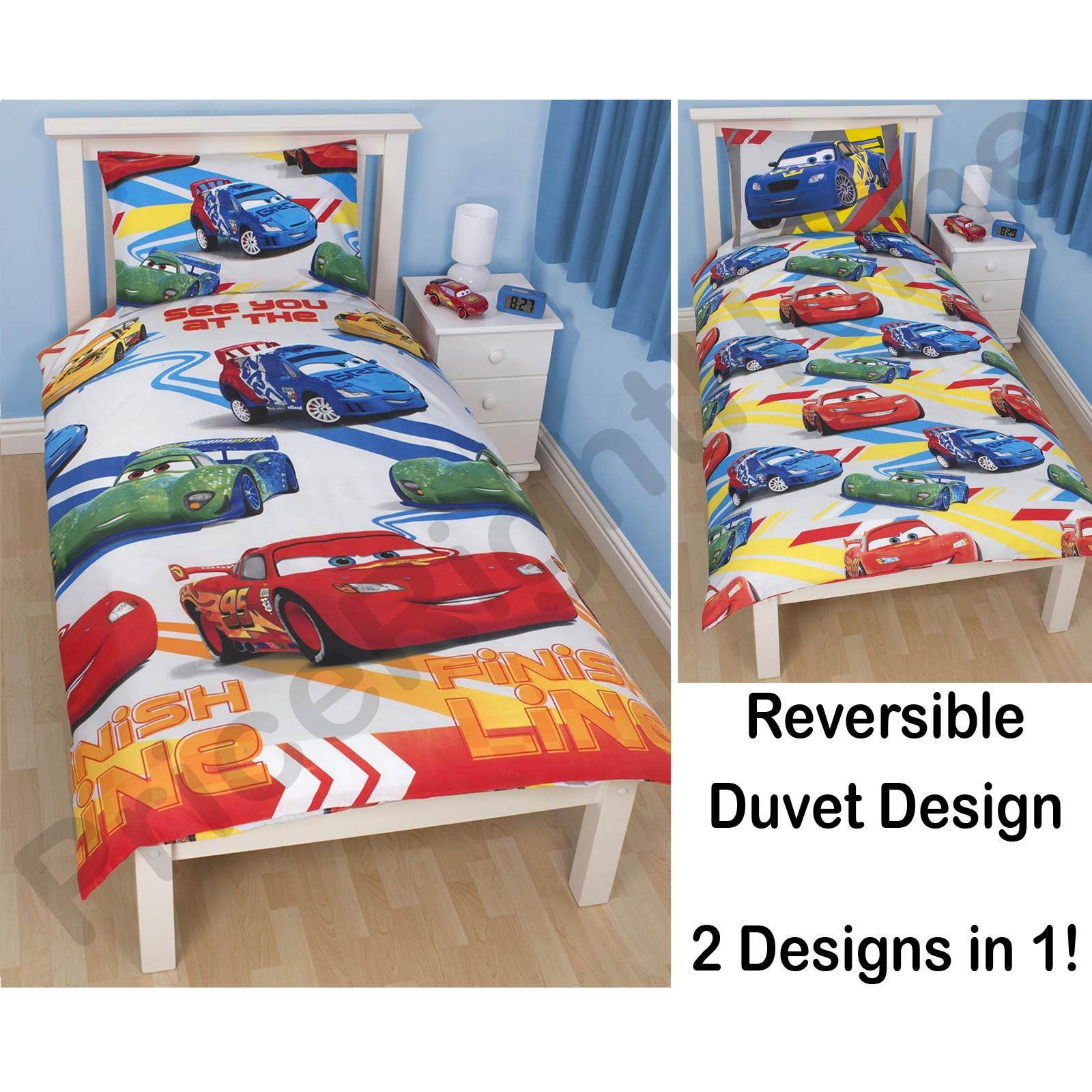 DISNEY CARS DUVET COVERS SINGLE DOUBLE Amp JUNIOR