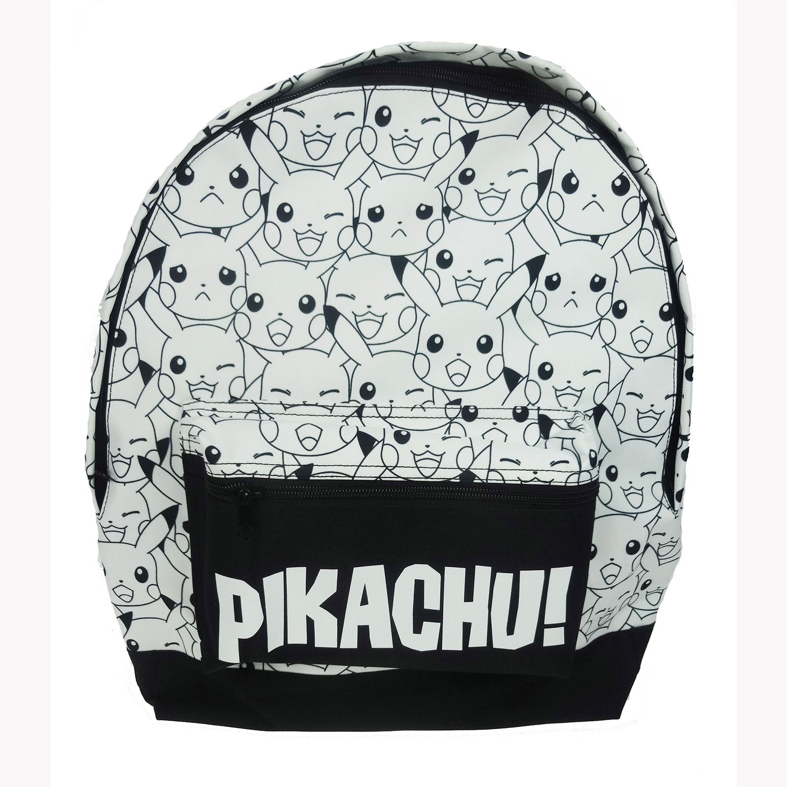 Pokemon Pikachu Sac 224 Dos Sac 233 Cole Neuf Noir Et Blanc Ebay