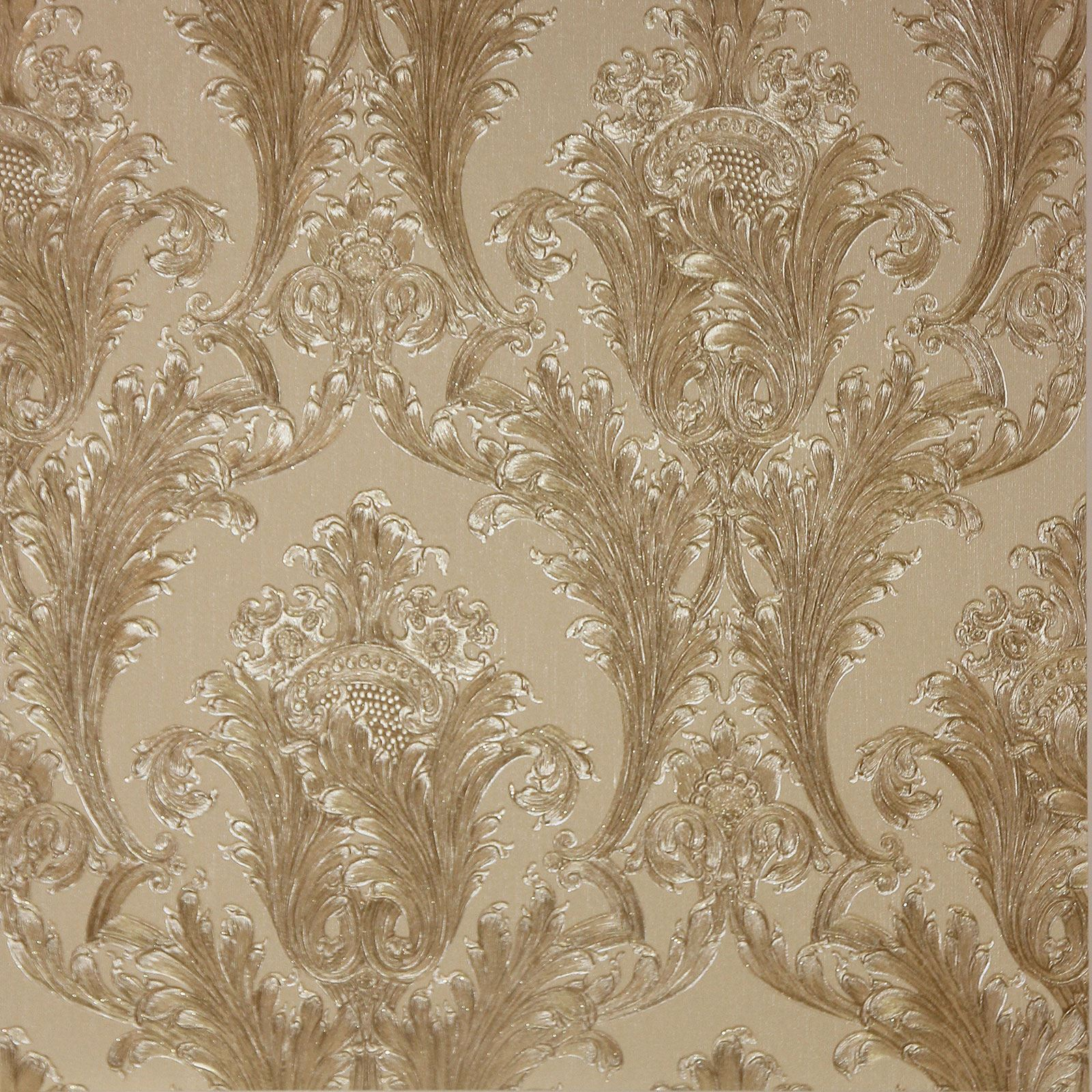 Arthouse figaro damask wallpaper red cream charcoal for Red wallpaper designs for walls