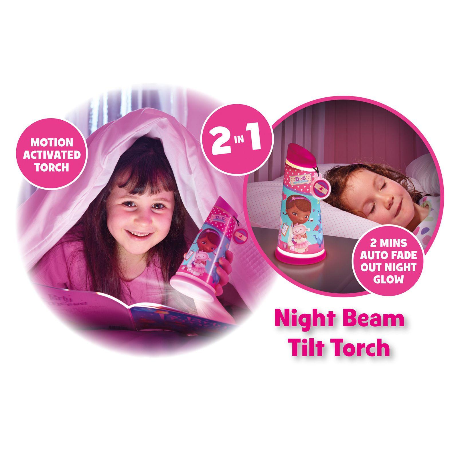 Indexbild 4 - Go Glow Nacht Beam Kipp Torch Beleuchtung Licht Kinder Schlafzimmer